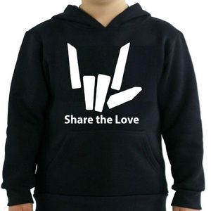 Other - share the love hoodie youth